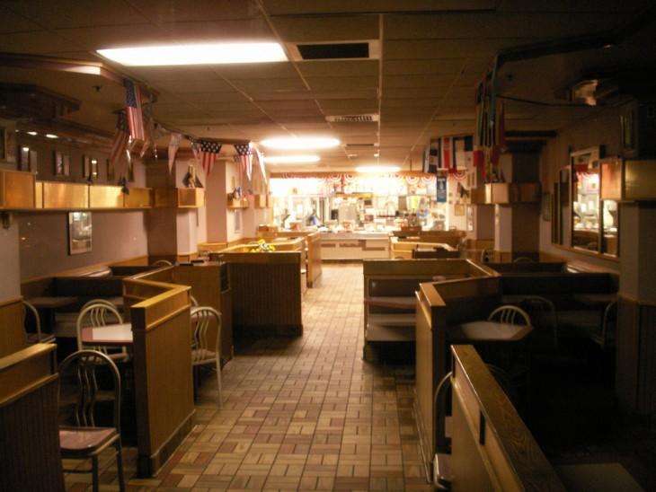 Restorán vacío
