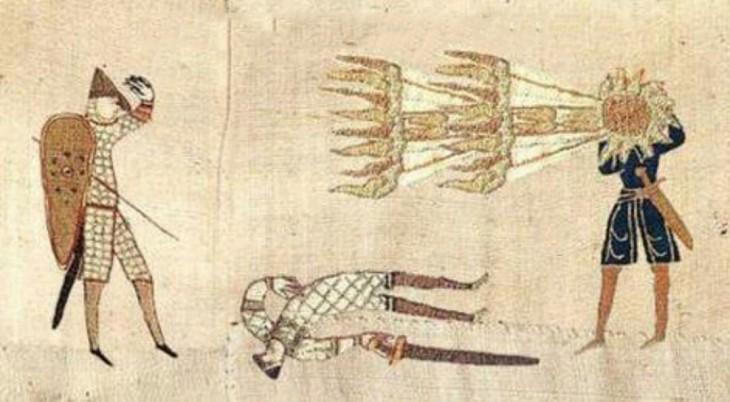 pintura dos soldados caídos