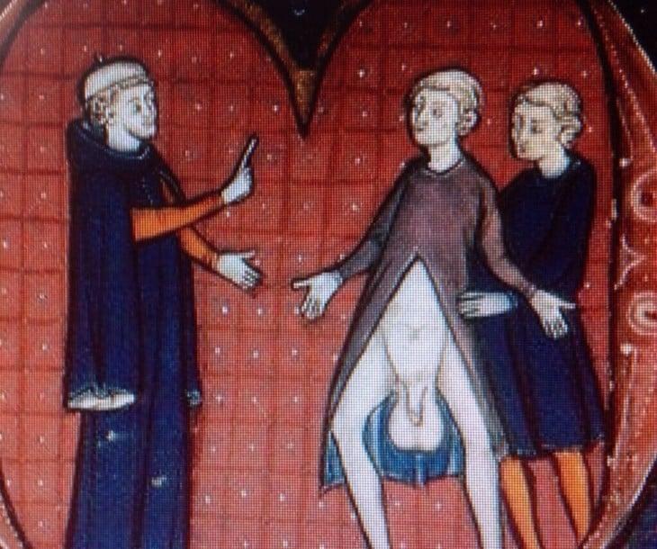 pintura testiculos grandes