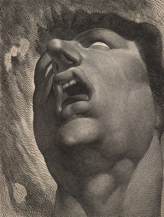 Pintura william blake satan