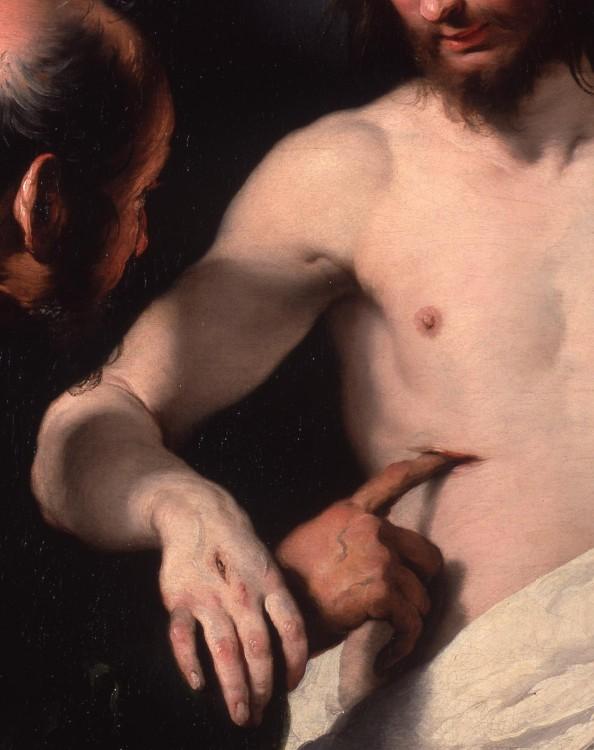 pintura heridas de cristo