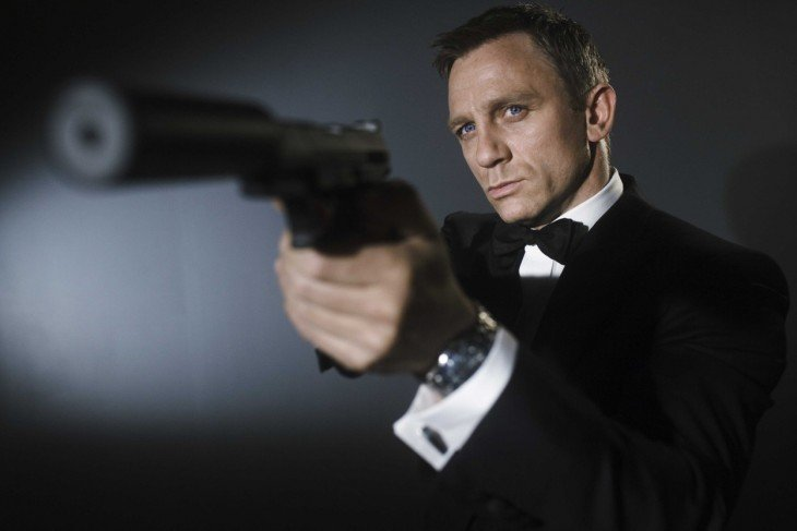 Daniel Craig es el último James Bond