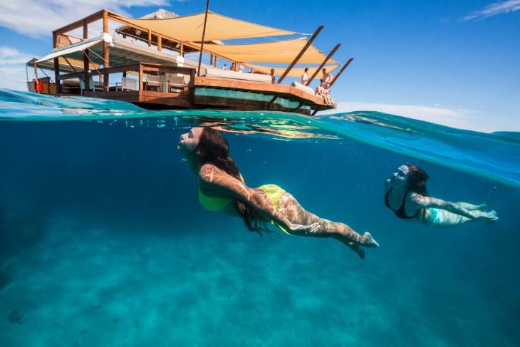 Paseo submarino en Fiji