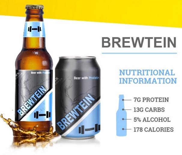 Brewtein, cerveza fortificada