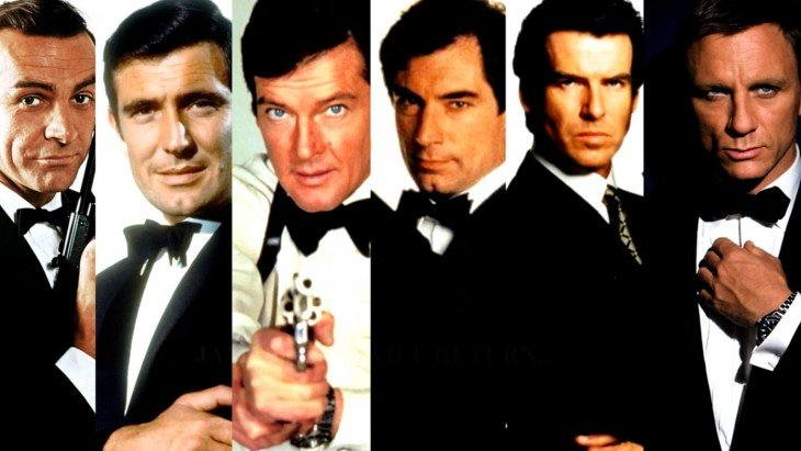 james bond actores