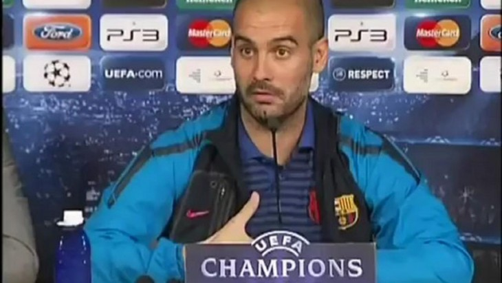 pep guardiola opinando sobre mourinho