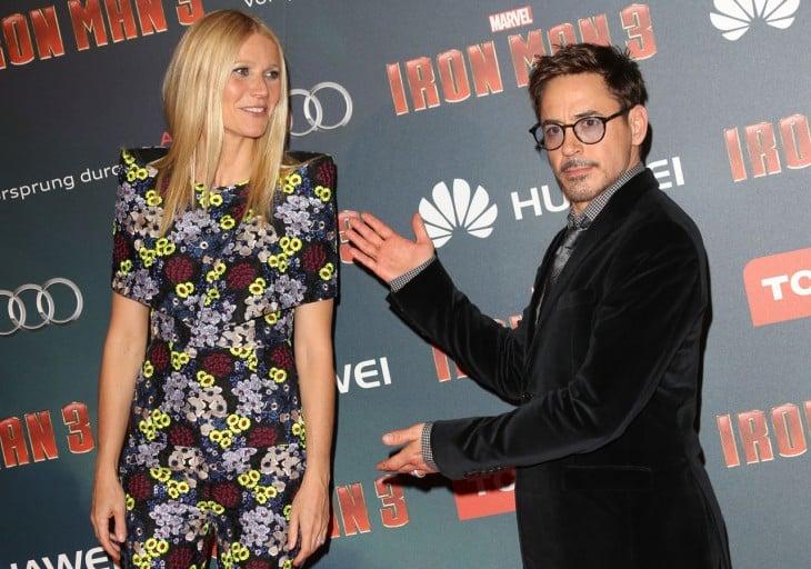 Presentación de película Iron Man