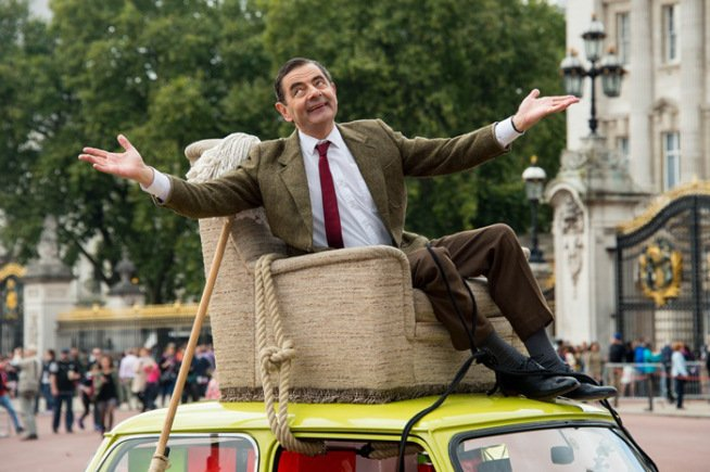 Mr. Bean Celebra 25 años se toma fotos