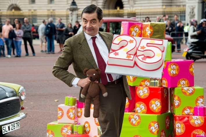 Pastel de Mr. Bean Celebra 25 años