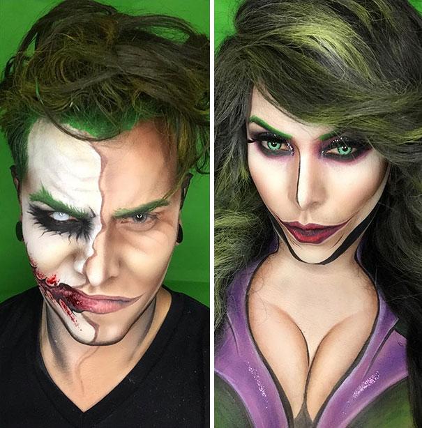 joker masculino y femenino