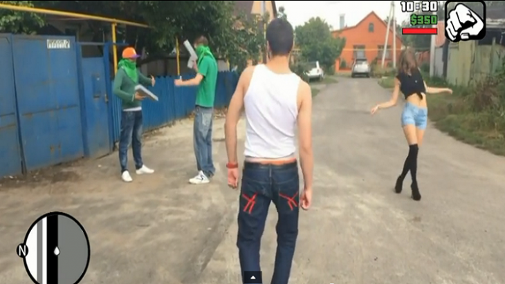Videojuego real GTA Kursk