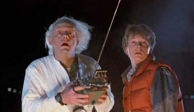 marty mcfly y dr emmett brown