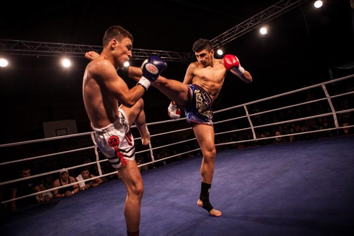 Pelea de Muay Thai