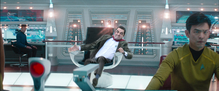 photosopean a mr bean star trek