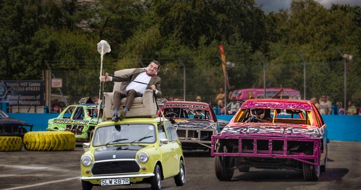 photosopean a mr bean carrera 2