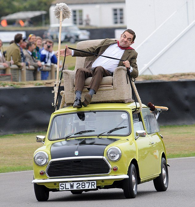 photosopean a mr bean
