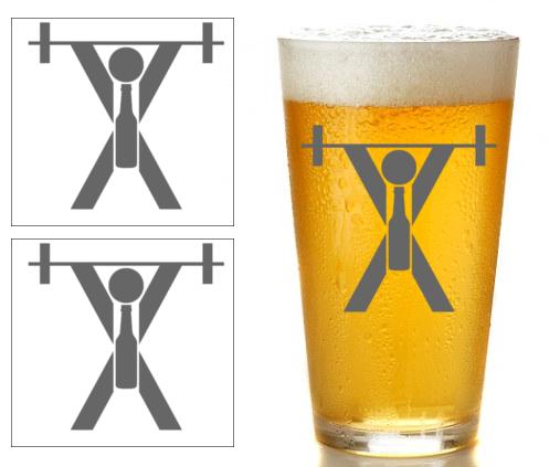 Sticker de cerveza