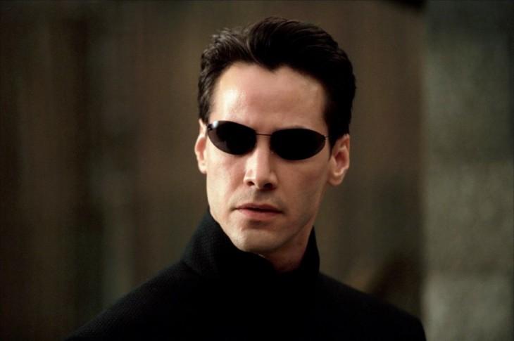 Keanu Reeves cumple años Matrix
