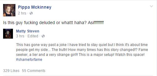 Post de Pippa en Facebook