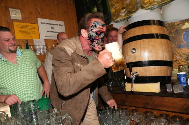 terminator, Photoshop de Schwarzenegger