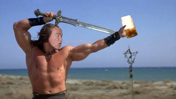 Conan, Photoshop de Schwarzenegger