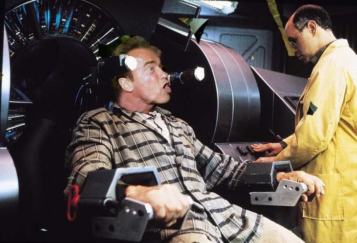 pelicula del futuro, Photoshop de Schwarzenegger