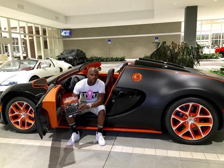 Bugatti Veyron Grand Sport Vitesse 2015 de Floyd Mayweather