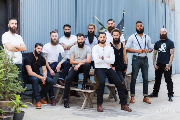 miembros de The Bearded Villains