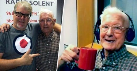 Abuelo de 95 años llama a la Radio porque se siente solo ¡Y lo invitan a la Estación!