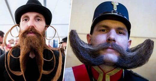 Así fue el Campeonato Mundial de Barba y Bigote 2015