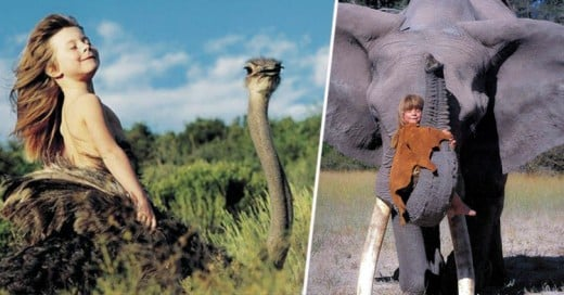 Conoce a la verdadera Mowgli ¡La niña que creció con los animales!