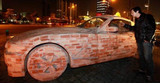 Construye réplica de un Mercedes Benz... ¡con ladrillos!