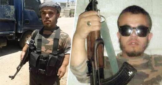 Él es Al-Chihuahua, el soldado yihadista sirio más pequeño que su rifle