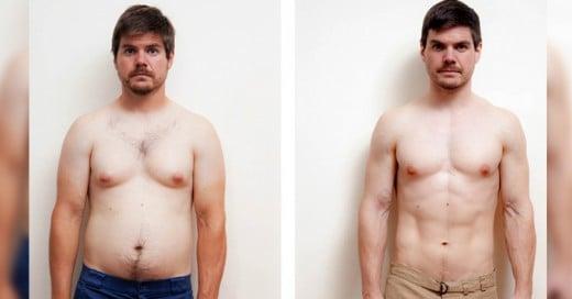 Este hombre Transformó su cuerpo sin pisar el Gimnasio ni una sola vez!
