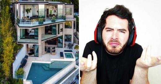 Famoso Youtuber de Minecraft compró una mansión de 4,5 millones de dólares