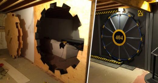 Fan construye la bóveda 404 en su casa ¡Al puro estilo de Fallout!