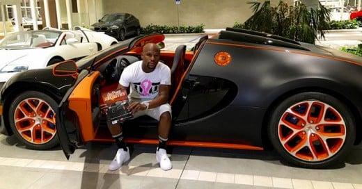 Floyd Mayweather Jr. gasta 3.5 Millones de Dólares en su nuevo Bugatti Veyron Grand Sport Vitesse