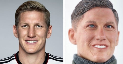 Hacen un muñeco Nazi con el rostro de Bastian Schweinsteiger