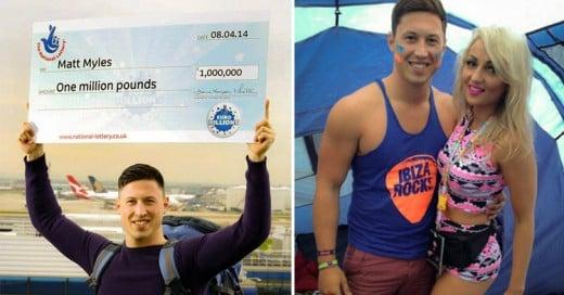 Hombre fue golpeado por su exnovia después de haber ganado de Lotería