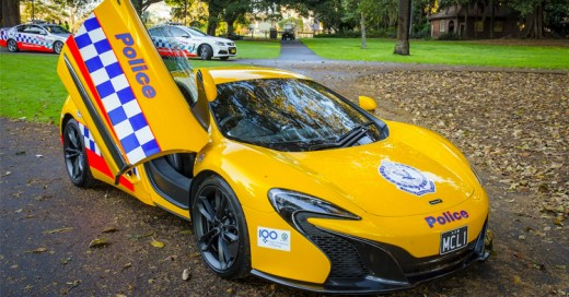 Policía australiana añade a sus patrullas un McLaren 650S