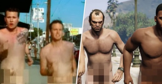 Recrean el video What's My Age Again, de Blink-182, en ¡Grand Theft Auto V!