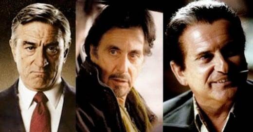 Robert De Niro, Al Pacino y Joe Pesci ¡Juntos en una nueva película de Scorsese!