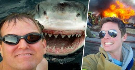 Al año mueren más personas por tomarse Selfies que a causa de TIBURONES!