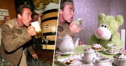 Una foto de Arnold Schwarzenegger en Oktoberfest pone a prueba a los mejores TROLES
