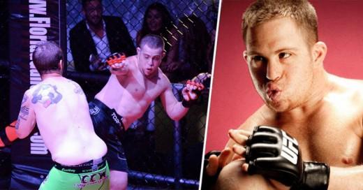 Él es el primer peleador de Artes Marciales Mixtas con Síndrome de Down