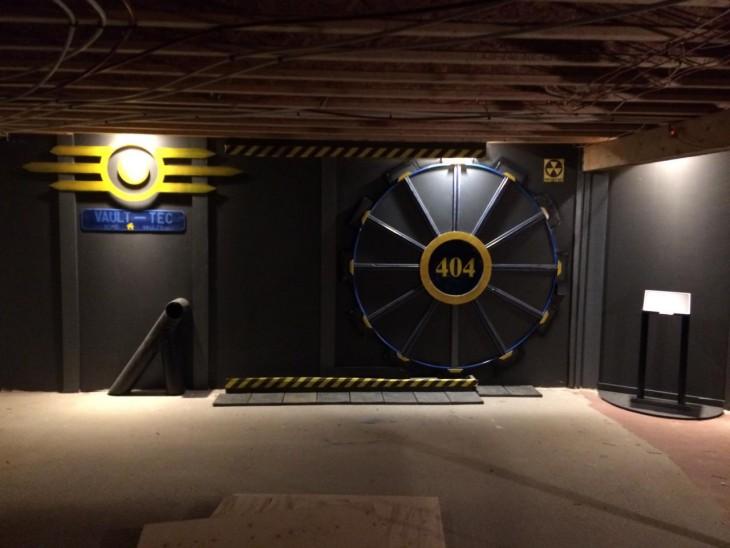 Boveda 404 inspirada en Fallout