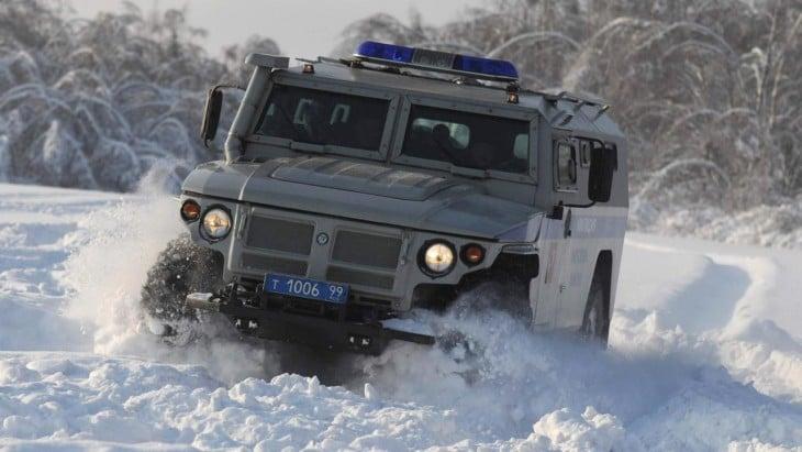 GAZ Tigr vehiculo militar ruso