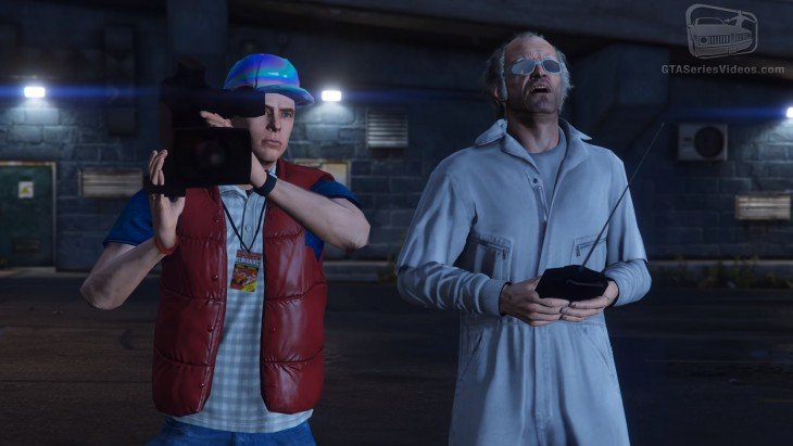 version de gta 5 volver al futuro