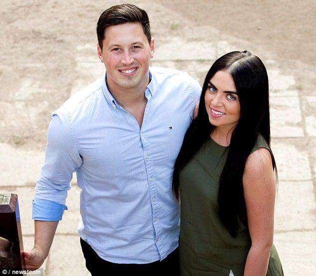 Matt Myles y su nueva novia