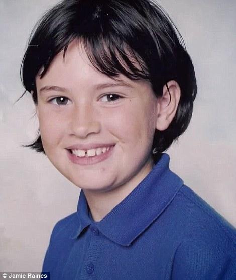 Jamie Raines de niña